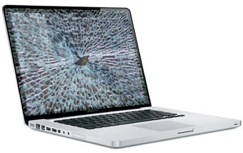 Macbook Pro Broken Glass